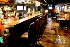 Upstairs bar at the Irish MBassy, Krakow