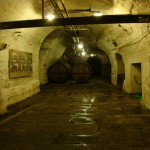 The cellars beneath the Pilsner Urquell brewery