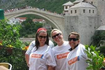 JayWay Guests in Mostar