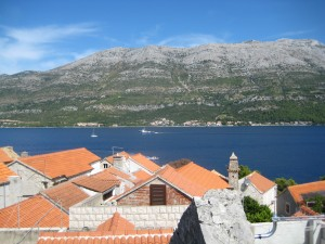 View from Marco Polo's house