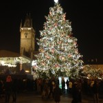 Old Town Square Christmas Tree