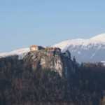 Bled Castle from afar