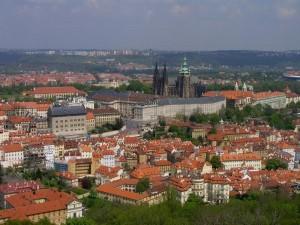 Prague castle courtesy of Prague tourism