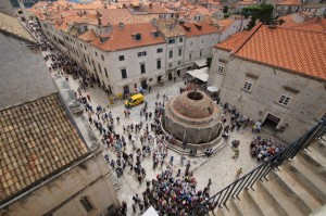 Dubrovnik Pile Gate Crowd