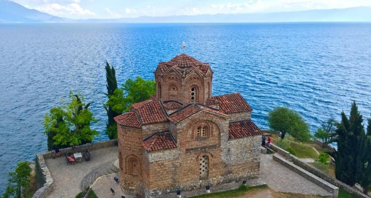 The church of St John at Kaneo, Ohrid