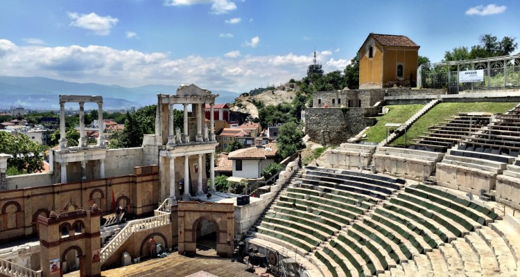 Plovdiv's Roman Theater