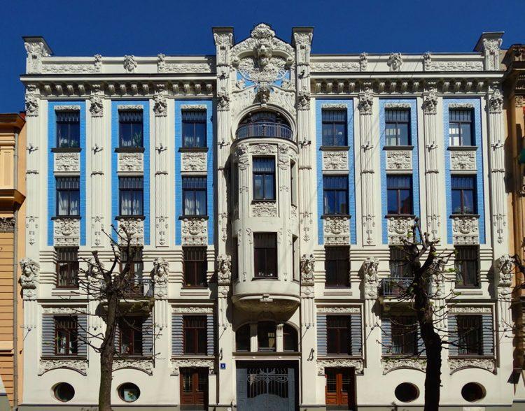 Riga Art Nouveau Building