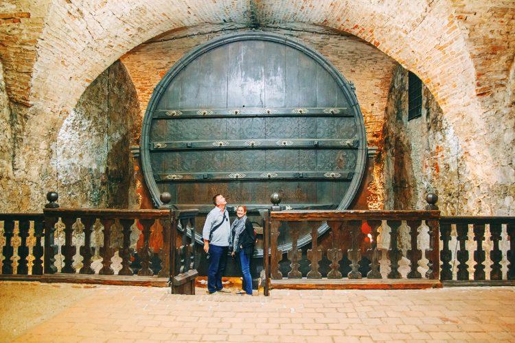 Mikulov Castle Giant Barrel