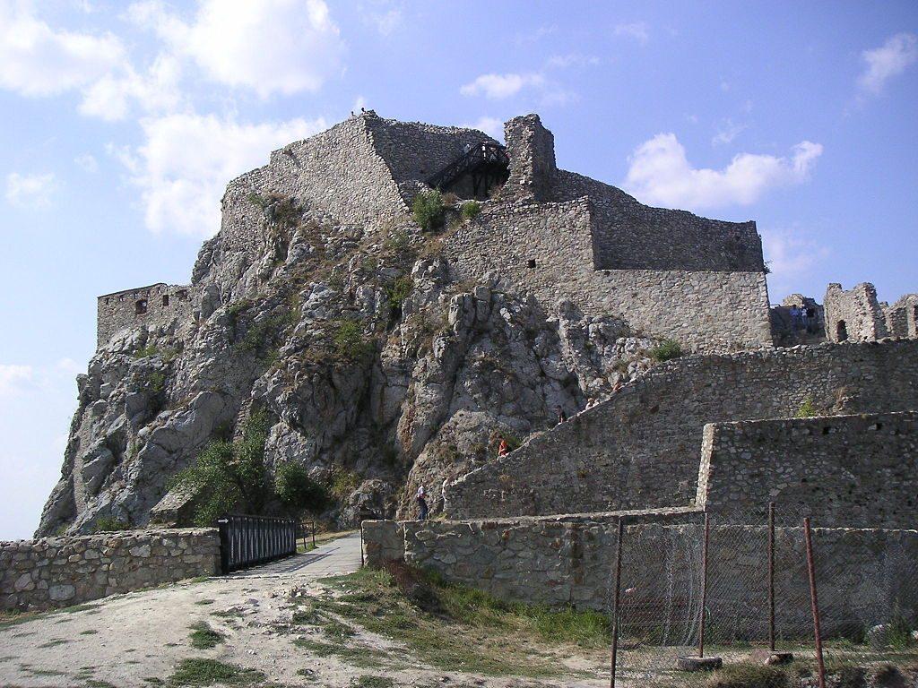 Devin Castle in Bratislava