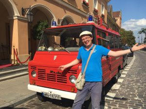 Warsaw tour guide