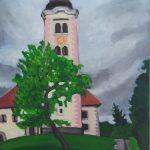 Lake Bled Island Church