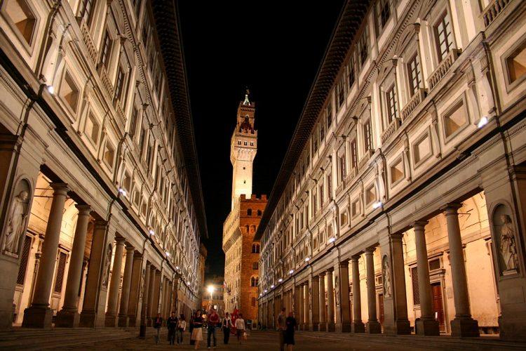 The Uffizi Florence