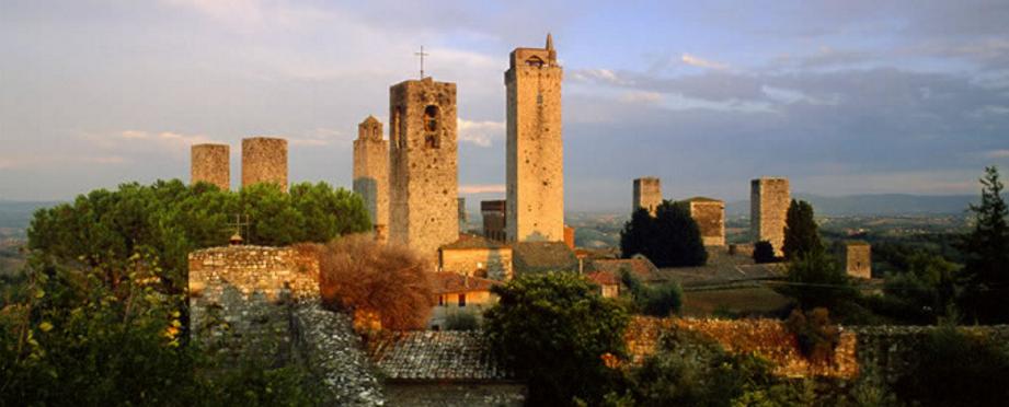Visiting San Gimignano