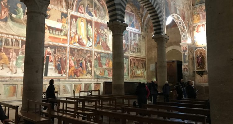 Duomo San Gimignano - Frescos