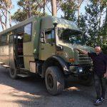 Vesuvius Tank Bus