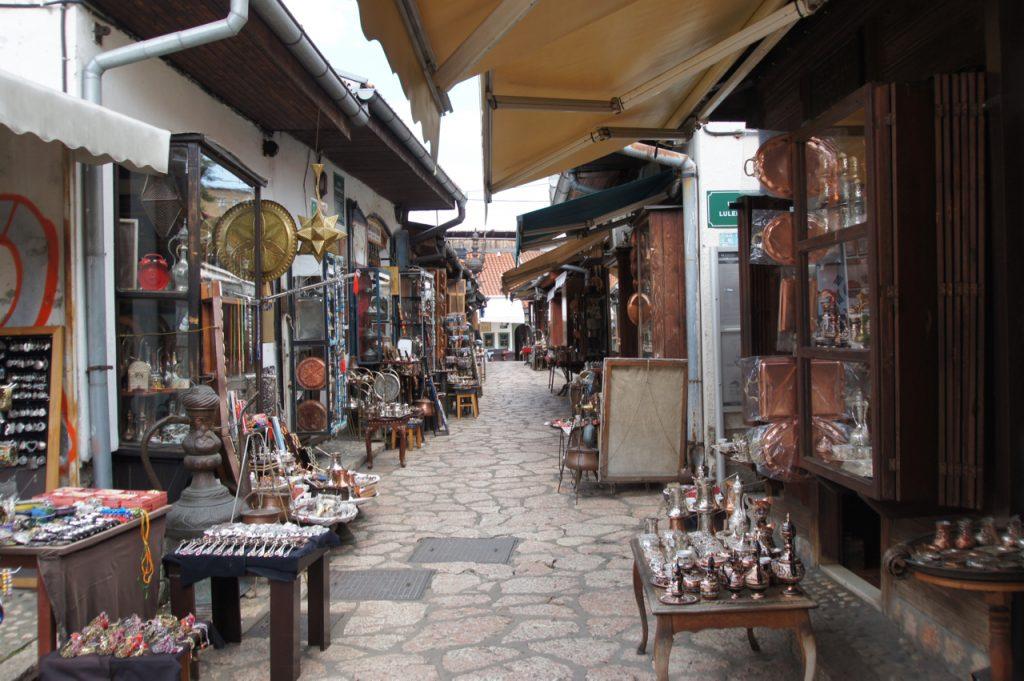 Narrow lane in the bazaar