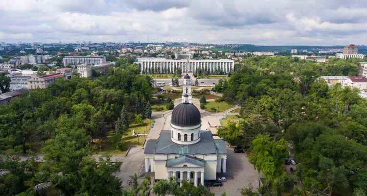 Chisinau Aerial Photo