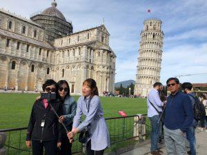 Pisa Selfie
