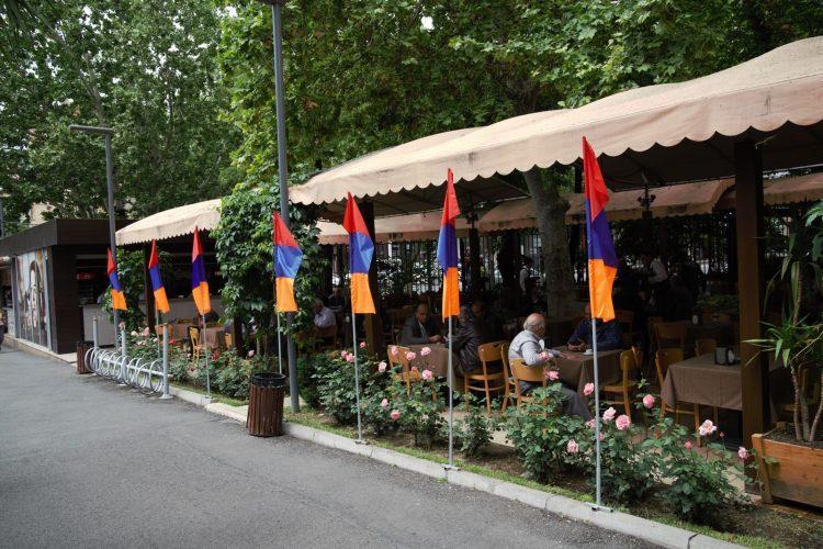 Cafe life in Yerevan