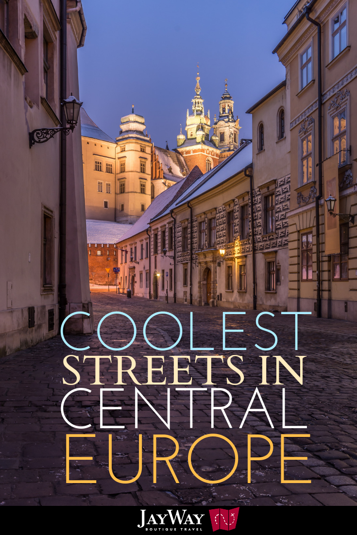 Coolest Streets in Central Europe