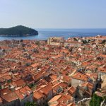 Dubrovnik old city from Minceta tower