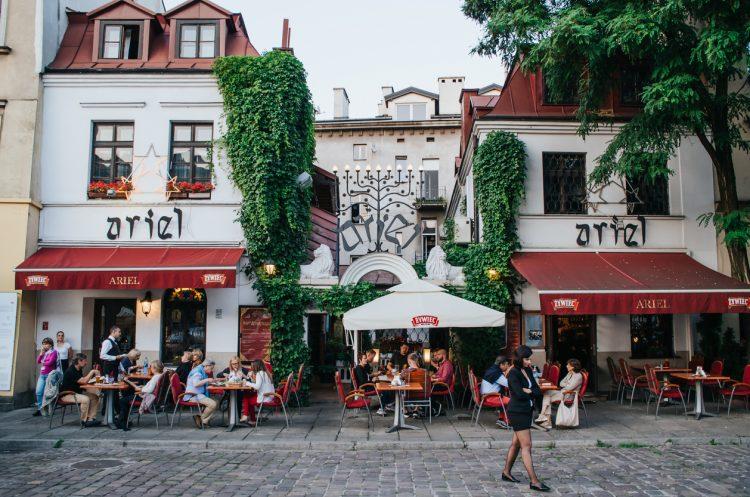 Cafe in Jewish quarter