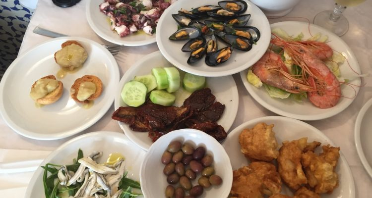 Seafood to share