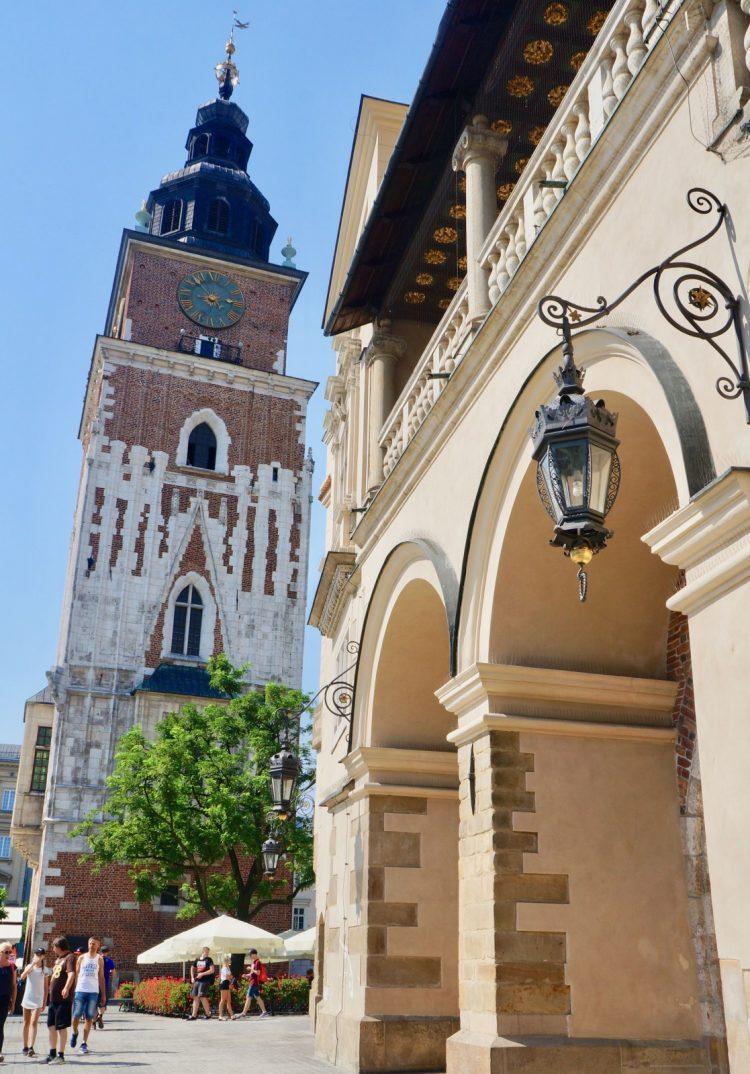 Krakow's Leaning Tower