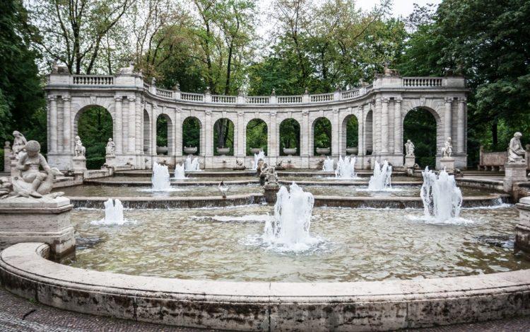 Marchenbrunnen fairy tale fountain in berlin