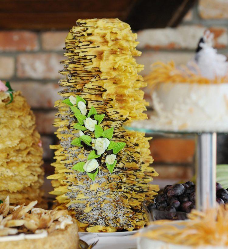 Traditional Lithuanian cake (sakotis)