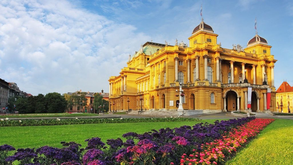 Zagreb's Croatian National Theater