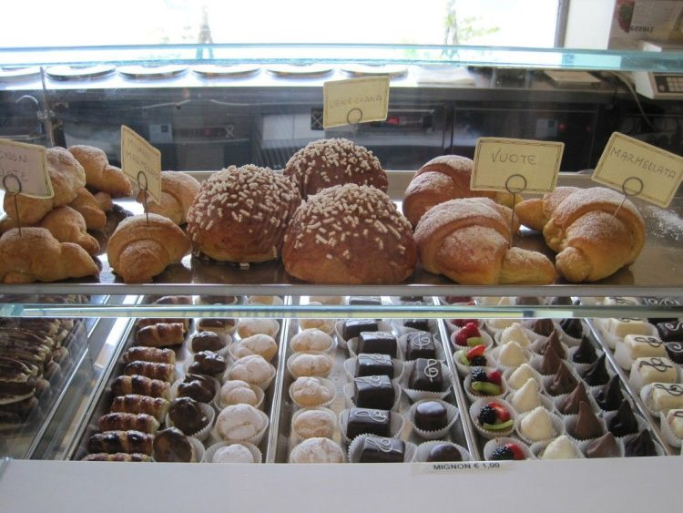 Sweets at Lake Como