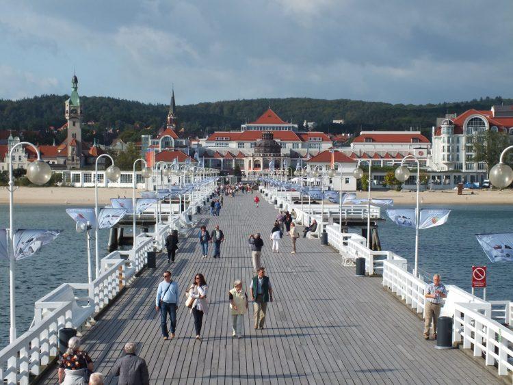 Sopot's pier and skyline