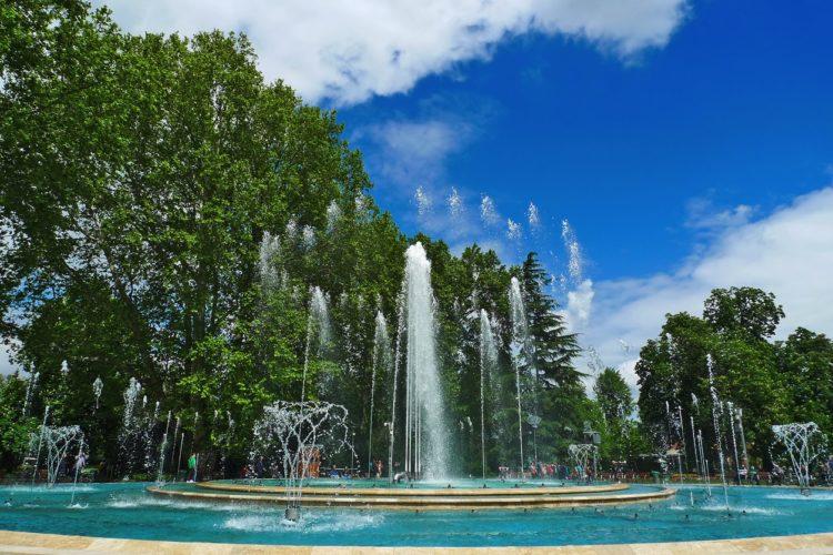 Margaret Island Dancing Fountains