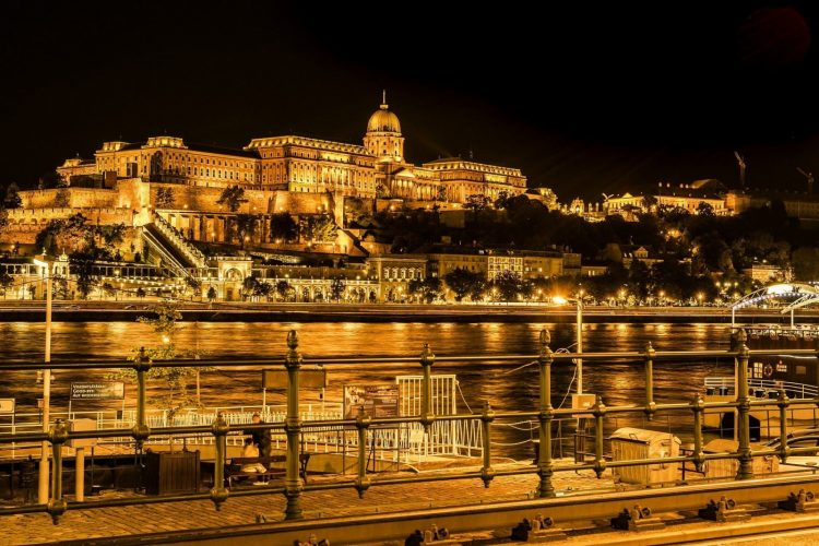 Buda as seen from Pest