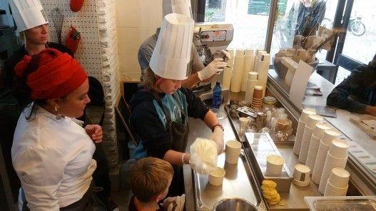 Gourmet tiramisu cooking class