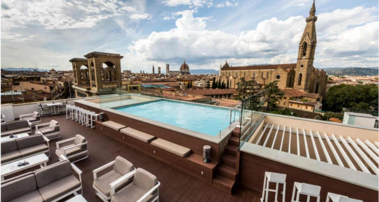 Photo from the Empireo: http://www.hotelplazalucchesi.it/en/photo-gallery-plaza-lucchesi-florence.php