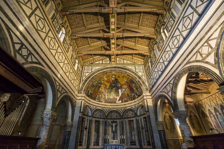 Basilica San Miniato al monte, Florence, Italy