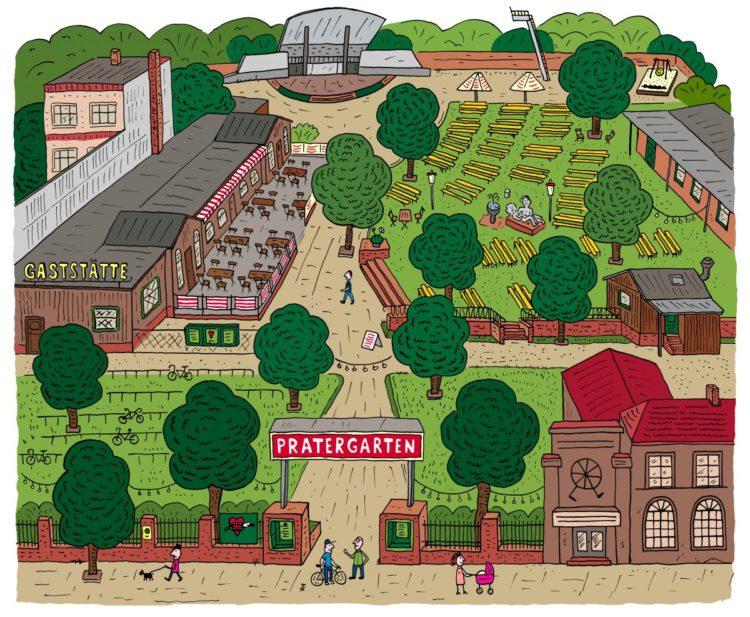 Illustration courtesy of Prater: https://www.prater-biergarten.de/