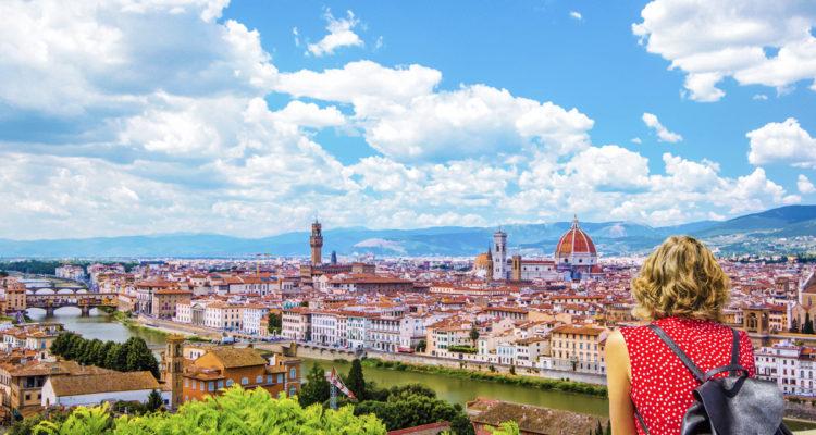 Piazzale Michelangelo vista