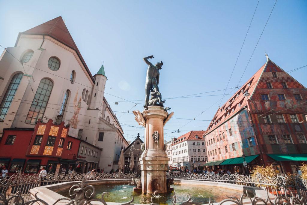 The Augsburg Prachtbrunnen