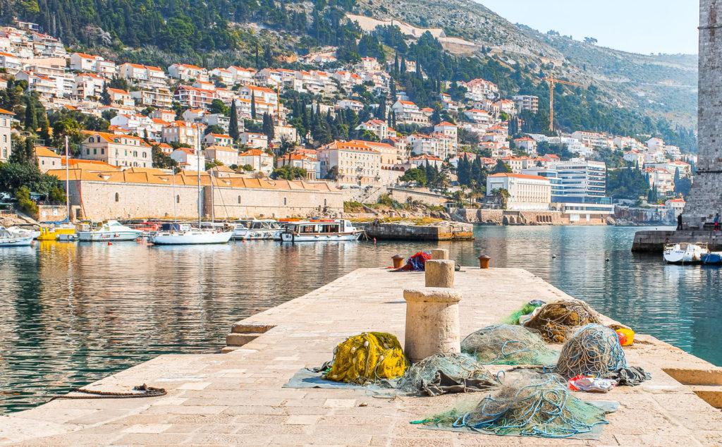 Dubrovnik's Old Town harbor
