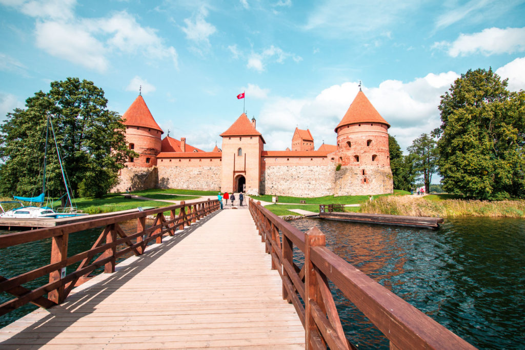 Trakai Castle entrance