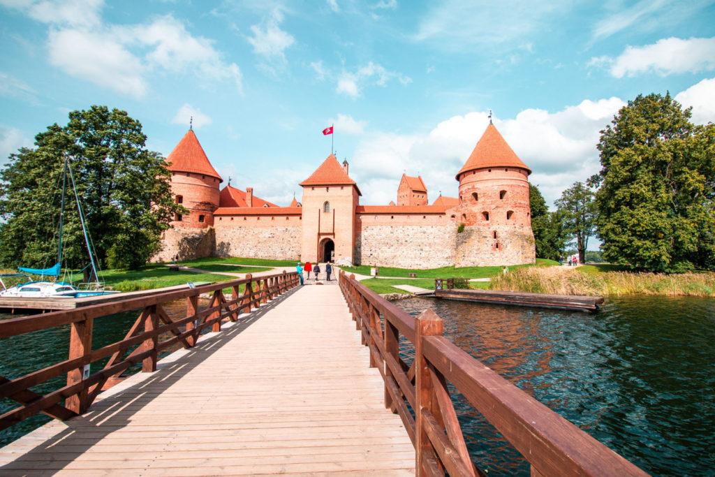 Trakai Castle entrance