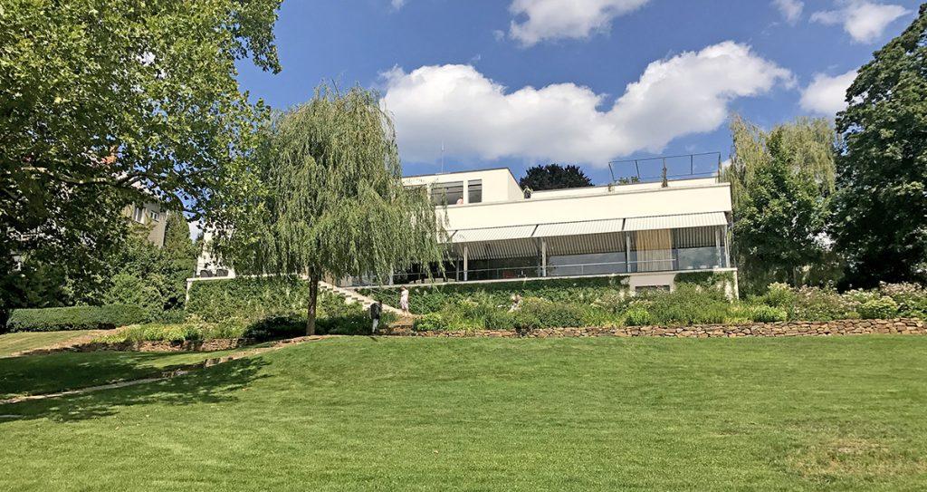 Villa Tugendhat Garden and Exterior