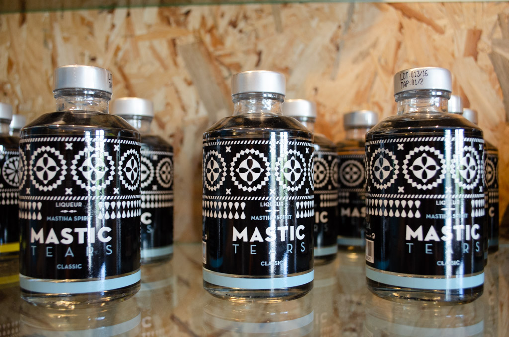 Greek Mastic in Bottles