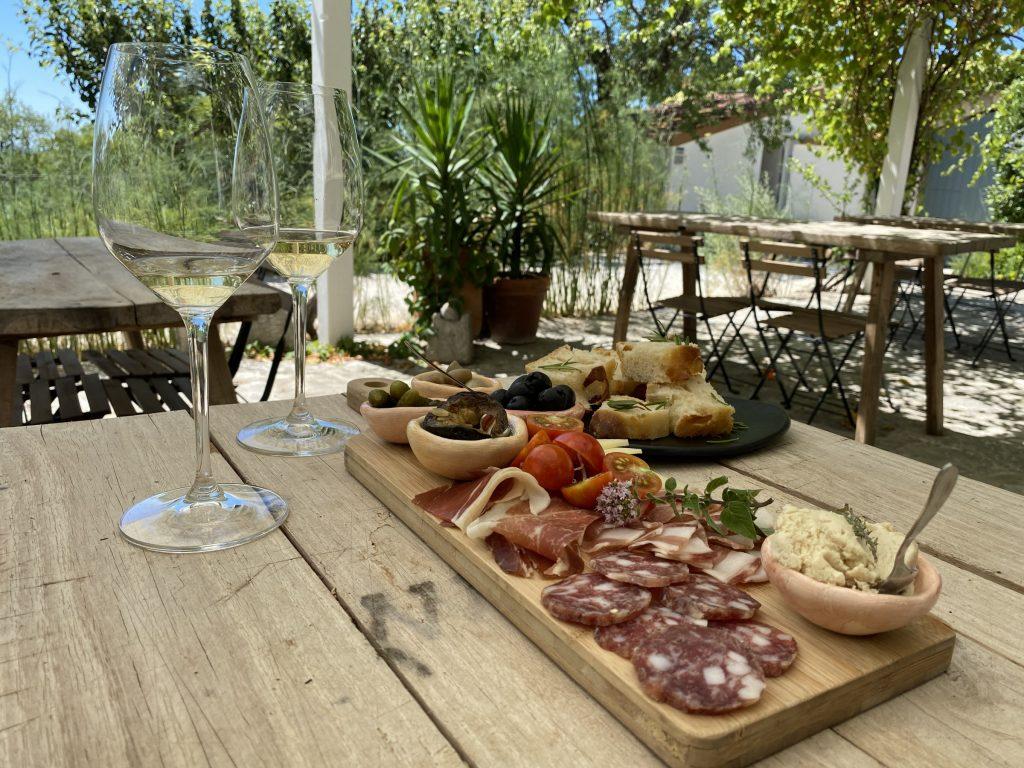 Wine tasting near Skradin